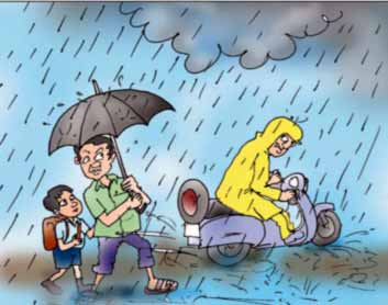 वर्षा ऋतु पर निबंध (Varsha Ritu Par Nibandh)