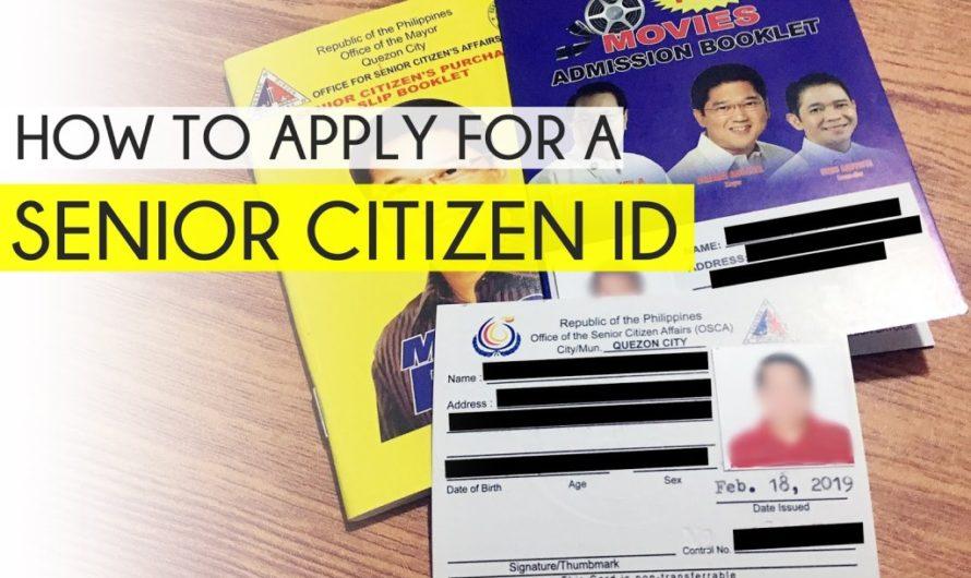 सीनियर सिटीजन कार्ड के लिए कैसे आवेदन करें