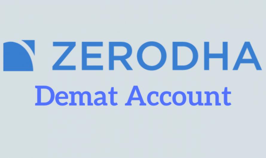 Zerodha में ऑनलाइन डीमैट अकाउंट कैसे खोले
